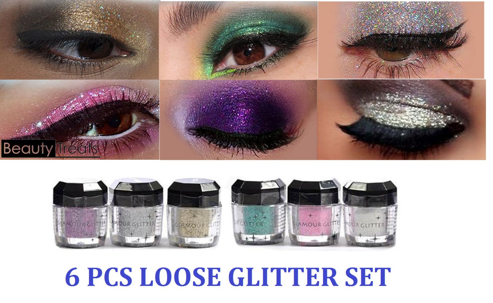 12 Beauty Treats Cosmetics Eye shadow Color Makeup PRO GLITT