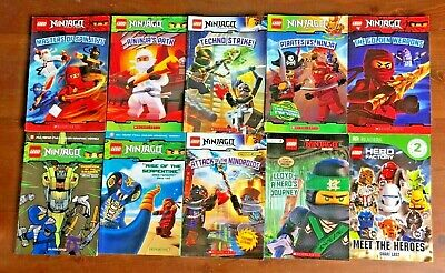 Lot 10 LEGO Ninjago Readers Scholastic Readers