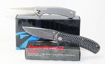 Zero Tolerance 0450 Sinkevich Knife Titanium Handle S35VN Blade & Kershaw 1301BW