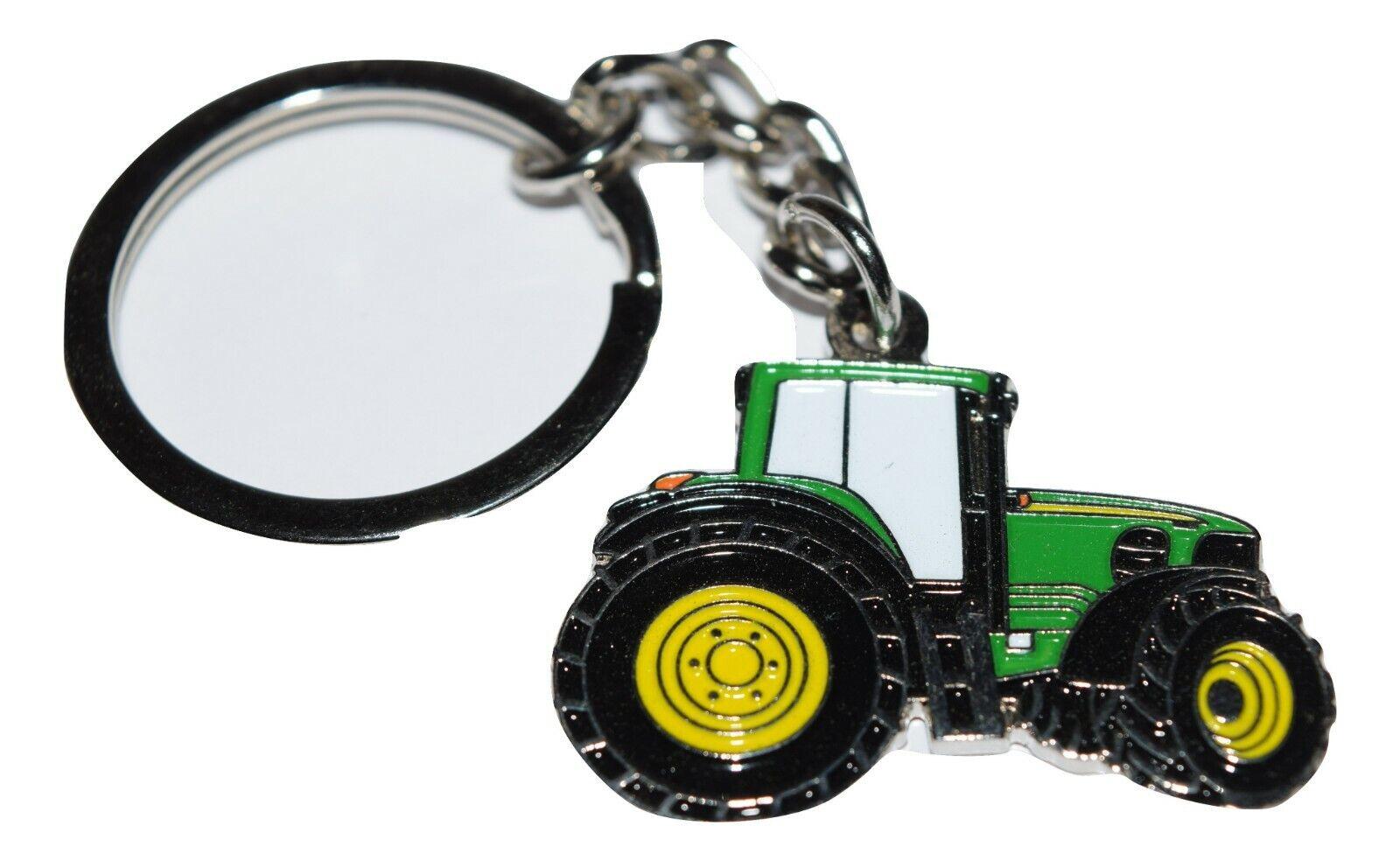 John Deere Tractor Pin Badge Green Farming Gift Novelty Wedding Favours Enamel