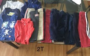 Boys 2T clothing lot