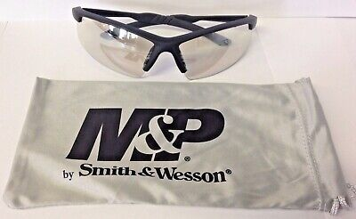 Smith /& Wesson Equalizer Safety Shooting Glasses Gray Frame Clear Lens SW4693C