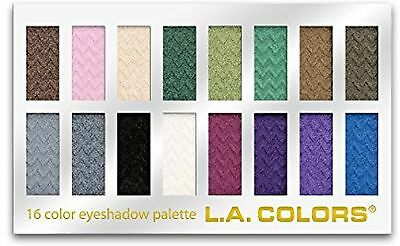 L.A. Colors 16 Color Eyeshadow Palette, Smokin', 1.02 Ounce