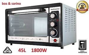 BOS & SARINO Convection Rotisserie Oven 45L Bench Table Top 1800W Southport Gold Coast City Preview