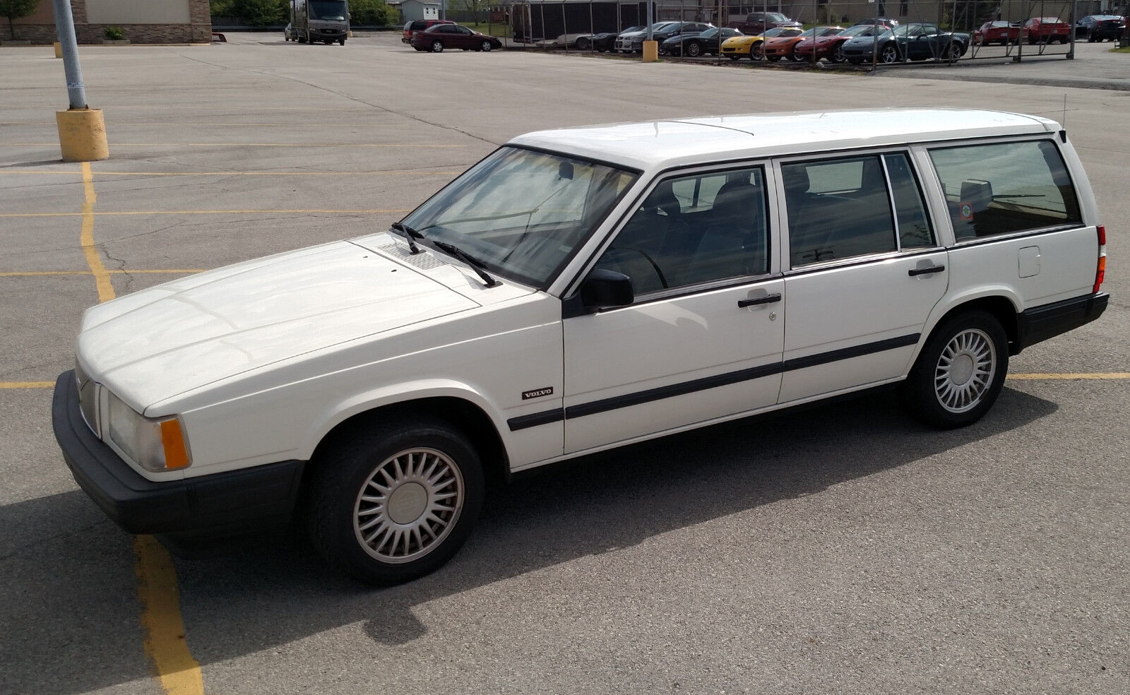 1992 Volvo 740  1992 Volvo 740 wagon with 5.7L LS1 V8 engine conversion and 6 speed manual trans