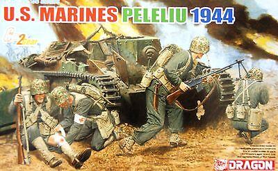 Dragon 6554: 1/35 US Marines Peleliu '44 (4 Figures)