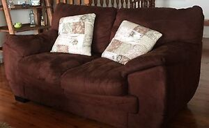 Brown suede sofas Tamborine Mountain Ipswich South Preview