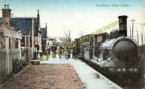 Fochabers Town Railway Station Photo. Orbliston Line. Highland Railway. (2)