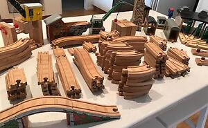 Thomas Tank Engine - Wooden Track Round House & more Deakin South Canberra Preview