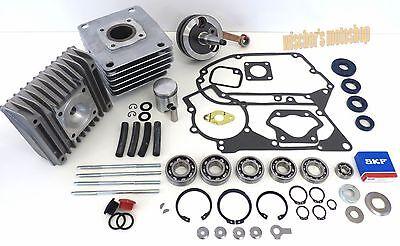 SIMSON Set Motor Reparatur 60 ccm inkl. SKF-Lager Kopf Schwalbe KR 51/2 S51 SR50