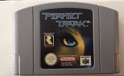 Perfect Dark For N64 nintendo 64 (Uk Pal) Game Cart Only VGC Genuine