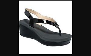 Calvin Klein Sandals Velcro back strap size 7 1/2 medium
