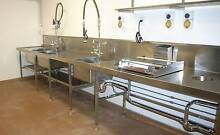 Stainless Steel Benchwork for Kitchens and other equipment. Slacks Creek Logan Area Preview