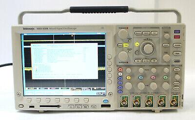 Tektronix Mso4104 1ghz 4 Channel 5gss Mixed Signal Oscilloscope