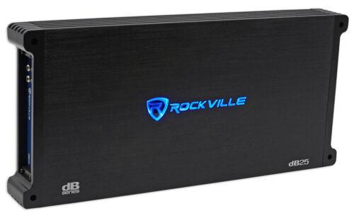Rockville dB25 2800 Watt/1400w RMS 2 Channel Amplifier Car S