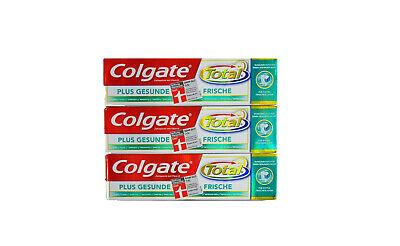 Colgate Total Plus gesunde Frische Zahnpasta für extra frischen Atem  3x 75ml