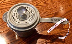 Staub 1.2 L or 1.25 QT Sauce Pan 14 cm Brand New in original box