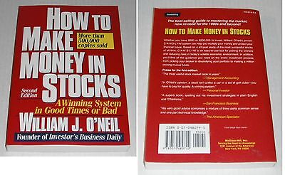 Investment Related  2 Books    1995  2004    Oneil And Schwab