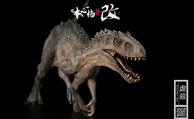 Jurassic World Bereserker Rex T-REX PAINTED PVC 1/35 Dinosaur Model USA SHIP - T Rex Model