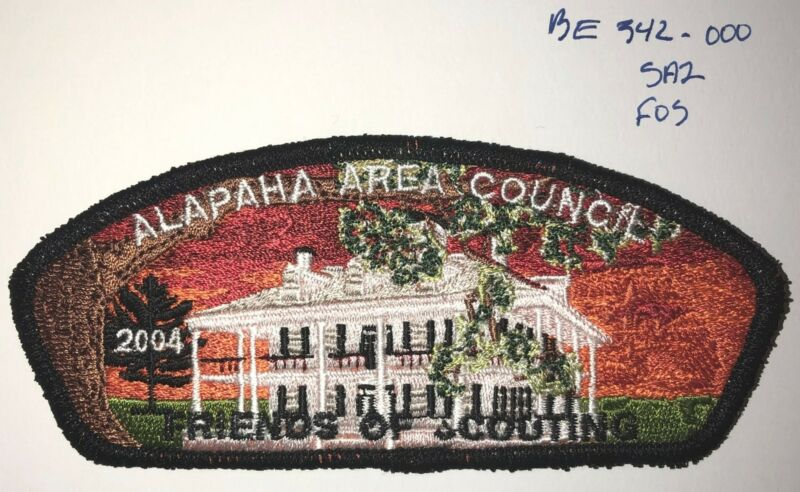 Boy Scout Alapaha Area Council 2004 Friends of Scouting FOS CSP