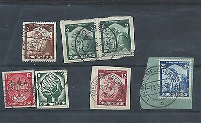 Germany stamps. Saar Restoration - faults see desc.. (Y817)