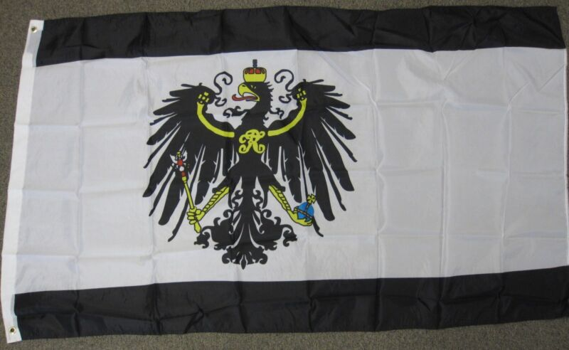 KINGDOM OF PRUSSIA FLAG PRUSSIAN GERMANY GERMAN F952