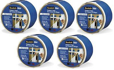 3m Scotchblue 2090-cm Multi-surface Painters Tape For Corners Hinges 5 Rolls