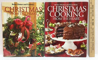 Christmas Cookbooks Better Homes & Garden Volume 5 & 17 Crafts Cooking