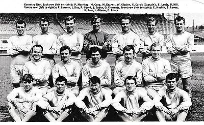 COVENTRY CITY FOOTBALL TEAM PHOTO 1966-67 SEASON