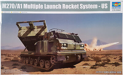 TRUMPETER® 01049 US M270/A1 Multiple Launch Rocket System in 1:35