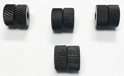 4 Pair Knurling Wheel Kit With 3 Diamond 1 Straight Knurls 2220-0030