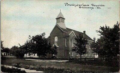 Bethany Illinois~Presbyterian Church~Neighborhood Houses~c1910 CU Williams PC