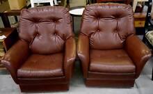 Set of Fler Flerena Brown Armchairs Danish Scandi Lounge Chairs Melbourne CBD Melbourne City Preview