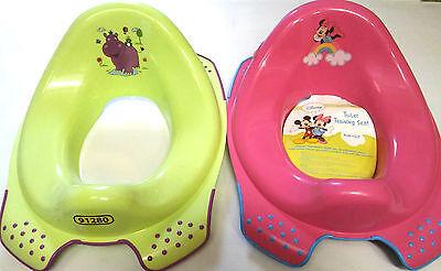 DISNEY antiscivolo bambini toilette Riduttore per WC 3 colori a scelta senza BPA