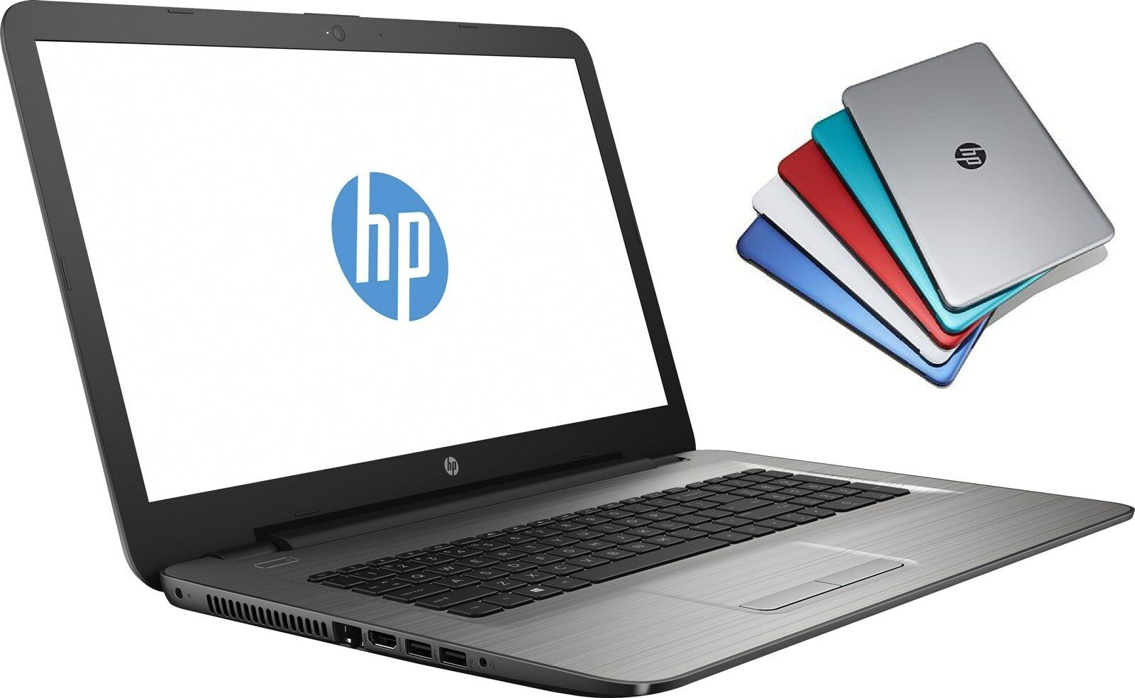 "HP 17.3"" Quad-core N3710 1.6GHz 1TB 8GB DVDRW Touchscreen Laptop Notebook PC"