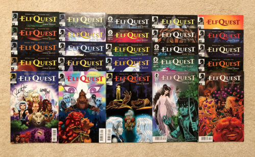 ELFQUEST Final Quest COMPLETE SET 25 issues NEW (#1 SIGNED)