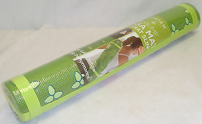 Gaiam Sublime Green Yoga Mat Non-Slip Texture Surface Exerci