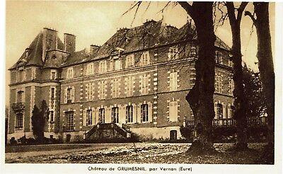 CPA-Carte postale-  France - GRUMESNIL - Son Château (iv 775)