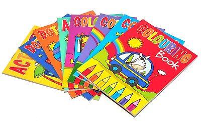 8 X A6 Mini Malbücher für Kinder Party Taschen Füllung Jungen Mädchen Spielzeug ()