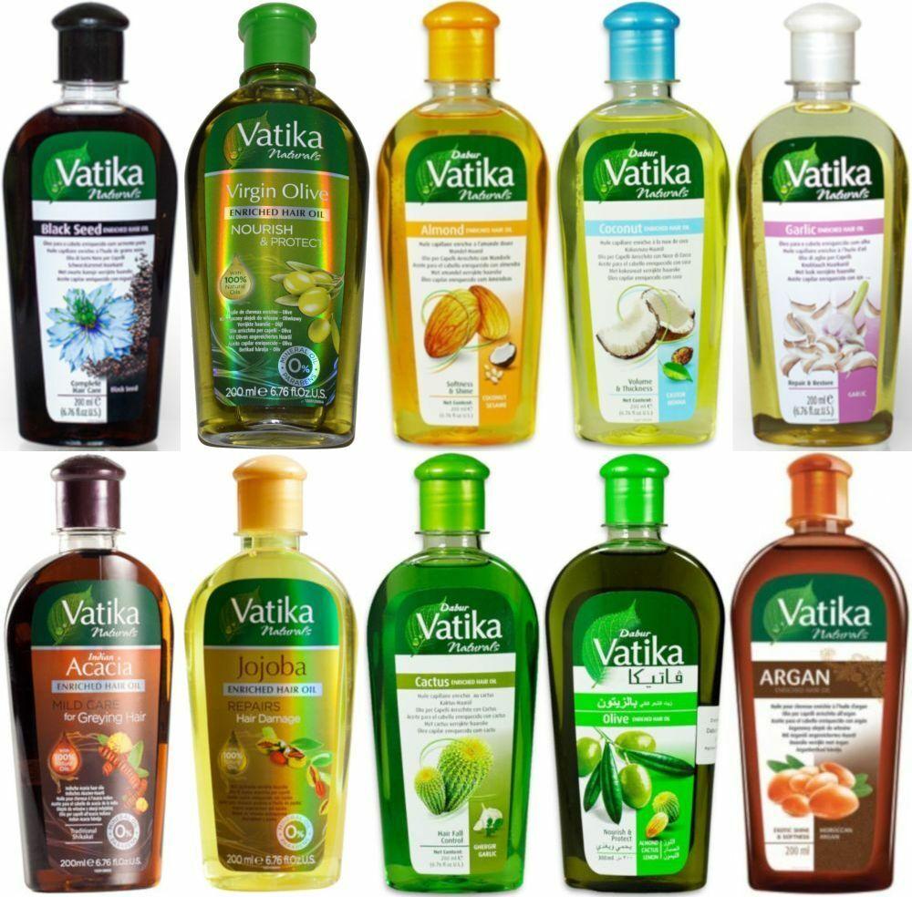 Dabur Vatika Naturals Enriched Hair Oil 200ml Haaröl Ayurvedische Haarpflege
