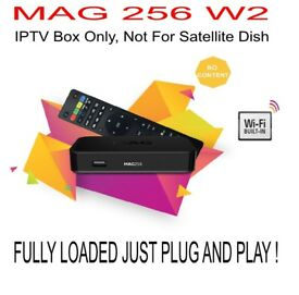 Genuine Infomir MAG 256 W2 Built In Wifi