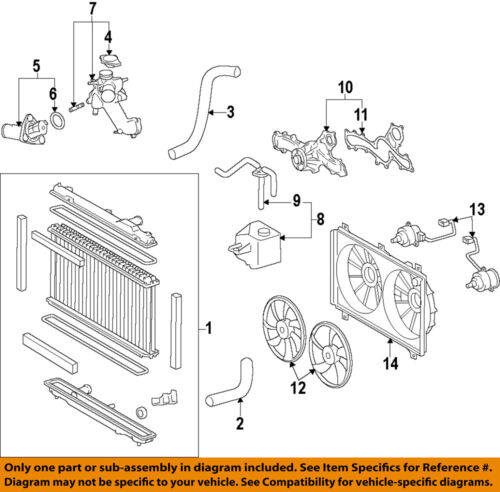 toyota 3 4 v6 engine water pump replacement diagrams lexus toyota oem 06 15 is250 engine water pump 1610039436 ebay  lexus toyota oem 06 15 is250 engine