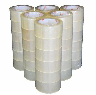 Tape Clear Packaging Shipping Tape, 2-Inches x 110 YDS, Pack of 36