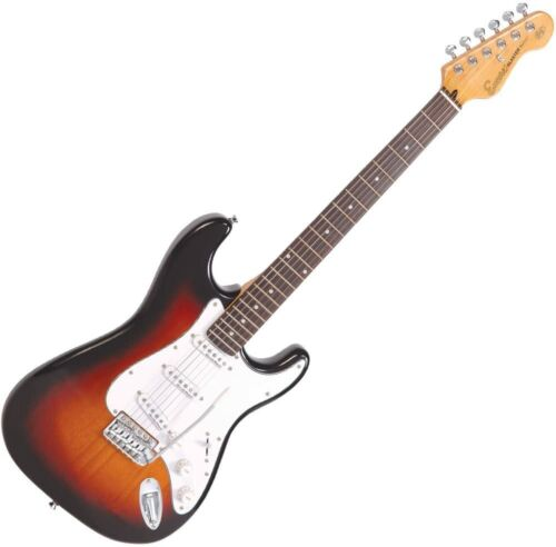 Encore E6 Electric Guitar Outfit Sunburst Lets Learn To Play Guitar At Home Now