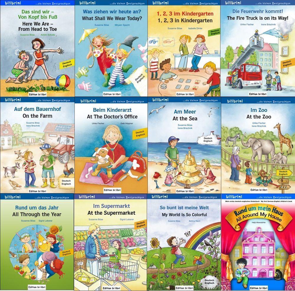zweisprachige Kinderbücher in Deutsch Englisch Bilderbuch Kinderbuch ab 2 Jahre