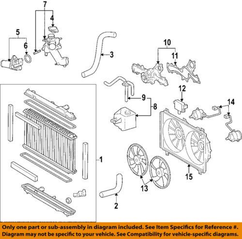 Lexus TOYOTA OEM GS350-Radiator Coolant Overflow Tank Recovery Bottle  1647031030 | eBayeBay