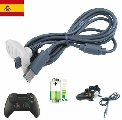 USB Cable Carga Juego Almohadilla Cargador XBOX 360 para Xbox 360 Controlador