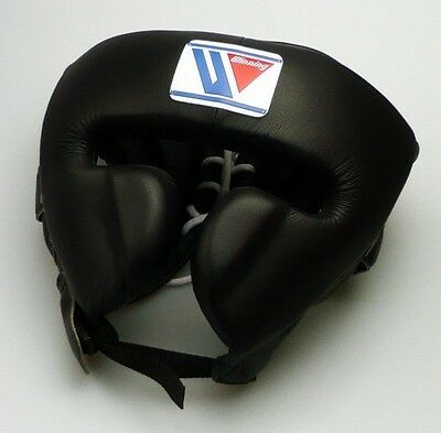 Winning Boxeo Tocados FG-2900 Talla L Cara Protector Tipo Negro Japón