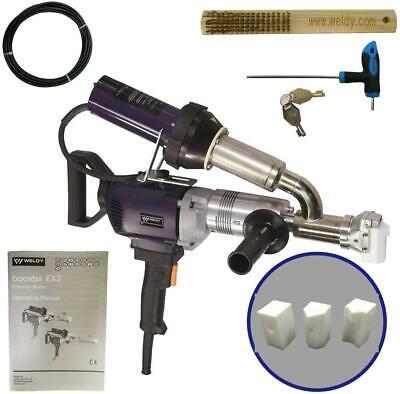 Weldy 3400w Handheld Plastic Extruder Welding Machine Plastic Welder Ex2