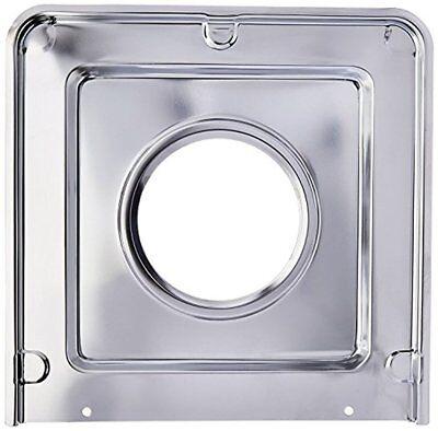 Range Kleen SGP401 Style J Chrome-Plated Square Drip Pan, 9.125 x 9.3125 Inches Chrome Plated Drip Pan